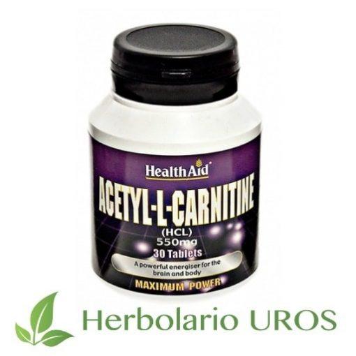 Acetil L Carnitina Carnitina Acetil-L-Carnitinade HealthAid Acetil-L-Carnitina