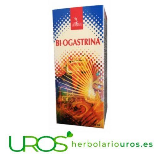 Bi-Gastrina: extractos de plantas para mejorar tu digestión Bi-Gastrina: tu digestión saludable de manera natural Extracto de plantas en líquido para tu buena digestión