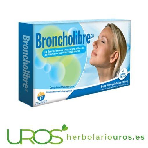 Broncholibre de Fenioux - para las vías respiratorias Broncholibre de Fenioux - una ayuda natural para respirar bien Un suplemento natural para tus vías respiratorias y el sistema inmune