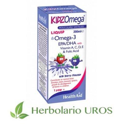 KidzOmega en líquido KidzOmega líquido KidzOmega - omega 3 en líquido