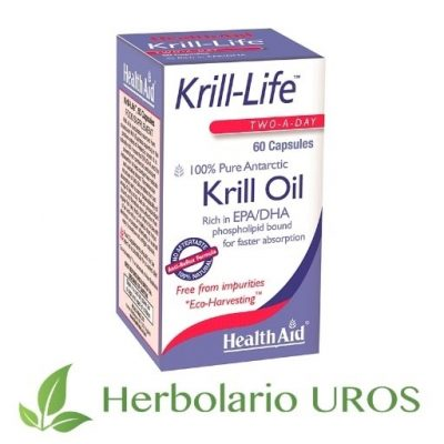 Krill-Life Aceite de Krill Krill Life de HealthAid