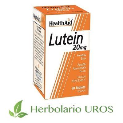 Lutein Luteína Luteina de HealthAid