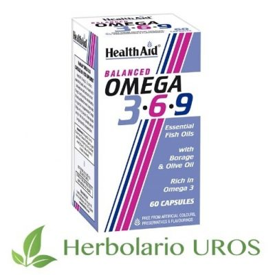 Omega 3-6-9 de HealthAid