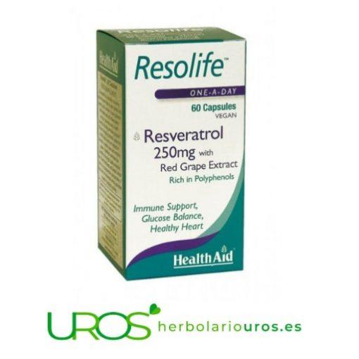 Resolife HealthAid: Un remedio para el estrés oxidativo Resolife de Health Aid - tu antioxidante concentrado Un suplemento naturala base de resveratrol - Tu ayuda contra el estrés oxidativo