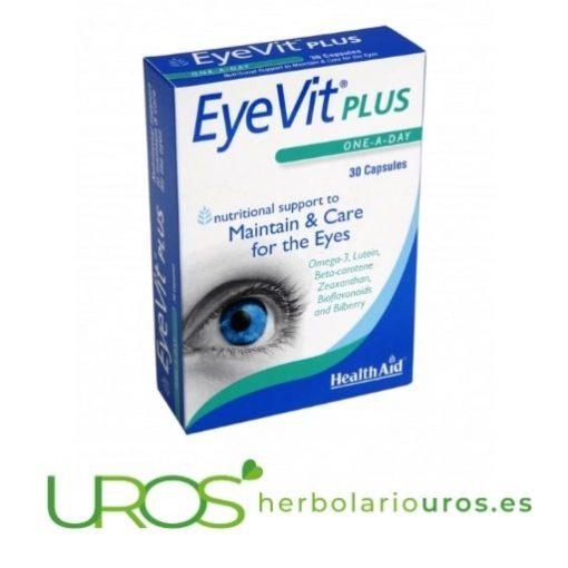 Eyevit Plus HealthAid - para una buena salud de tus ojos Para una buena salud visual - con todos los ingredientes para una buena visión