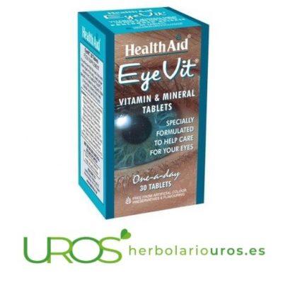 EyeVit de HealthAid - para una visión saludable EyeVit de laboratorios HealthAid Un suplemento natural para una buena visión