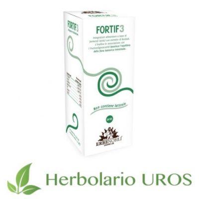 Fortif 3 Erbenobili Fortif3 Erbenobili Suplemento espagírico Probióticos