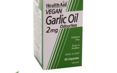 Aceite de ajo HealthAid Perlas de ajo Ajo en cápsulas