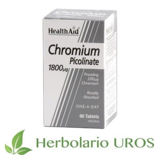 Picolinato de cromo Cromo Picolinato Healthaid Chromium Picolinate
