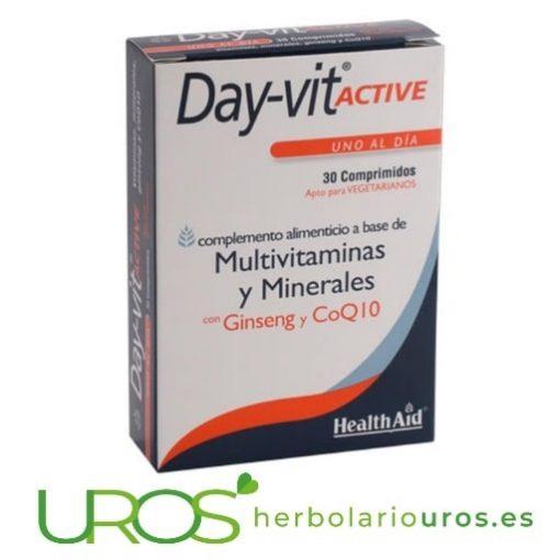 Day-vit Active HealthAid: DayVit de Health Aid minerales, vitaminas y ginseng