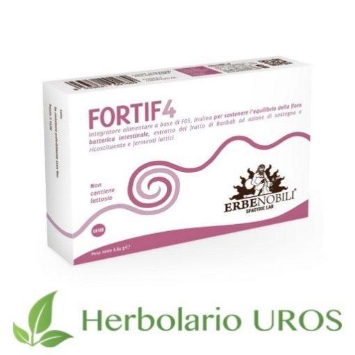 Fortif4 Erbenobili Fortif 4 Erbenobili Suplemento espagirico Digestion Probioticos Defensas naturales