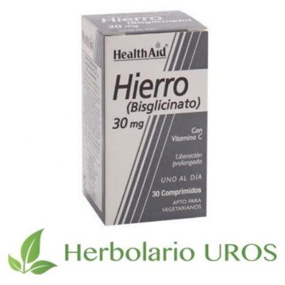 Hierro Bisglicinato HealthAid