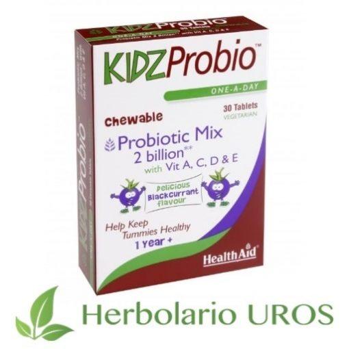 KidzProbio HealthAid Kidz Probio Probiotico para niños Probiotico masticable Probiotico para pequeños