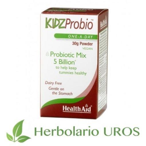 Kidzprobio Polvo Probioticos para niños Probioticos para niños de HealthAid