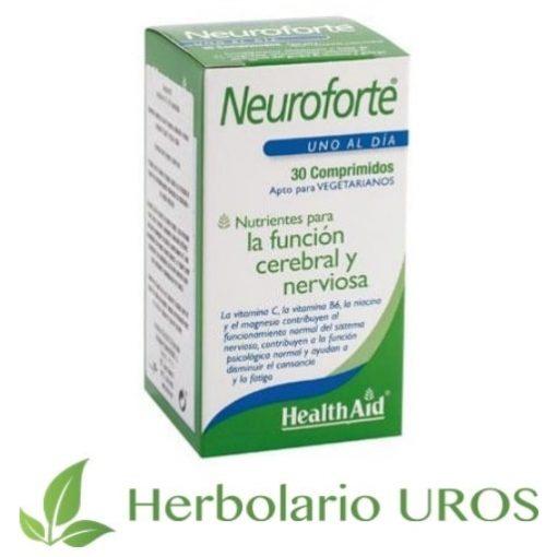 Neuroforte de HealthAid para una función cerebral y nerviosa normales