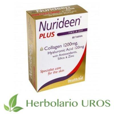 NuriDeen de HealthAid - para una piel sin arrugas - para una piel joven y sana