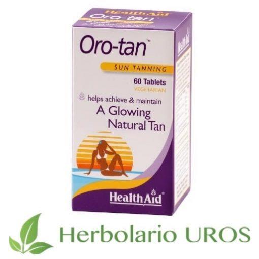 Oro-Tan HealthAid para un bronceado saludable