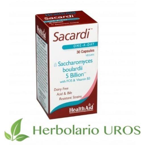 Sacardi HealthAid Saccharomyces Boulardii