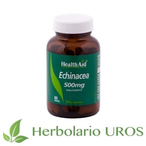 Echinacea Equinacea Defensas naturales Sistema inmune HealthAid