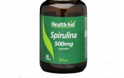 Spirulina Espirulina Espirulina pura Spirulina HealthAid Comprimidos de Espirulina Cápsulas de Spirulina