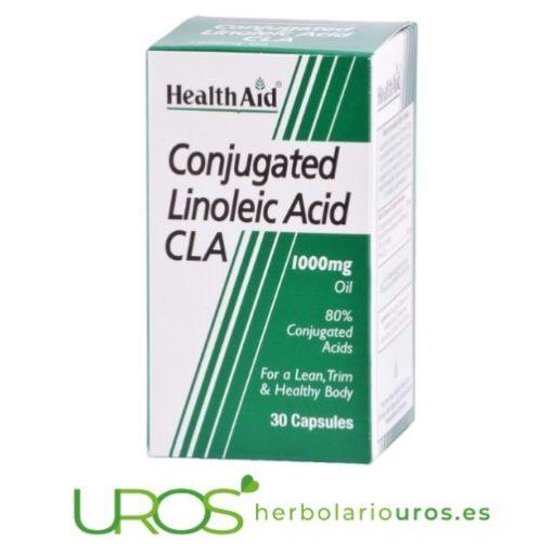 CLA Ácido Linoleico conjugado - para tus músculos y mejor metabolismo Una ayuda natural para adelgazar y el crecimiento y desarrollo muscular Un adelgazante natural que mejora tu metabolismo y apoya tu buen desarrollo muscular