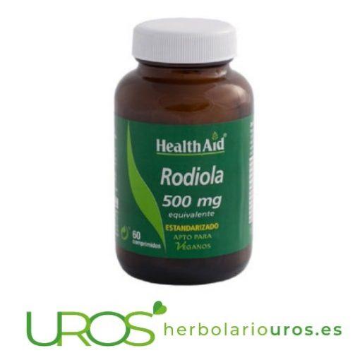 Rodiola Health Aid - pastillas de Rhodiola para tu energía Rodiola de Health Aid en pastillas: ansiedad, depresión y tu aporte de energía Un suplemento natural a base de Rodiola - una planta adaptógena Pastillas de Rhodiola de lab. Health Aid te pueden ayudar en ansiedad y depresión y te aporta energía
