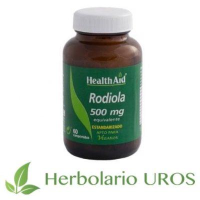 Rodiola comprimidos HealthAid - un adaptógeno natural