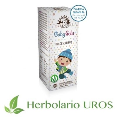 BabyGola Erbenobili Remedio Espagírico Infantil