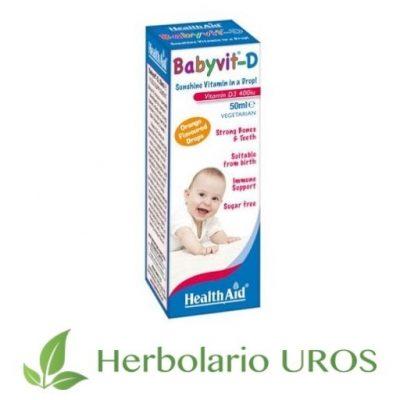 BabyVit-D en gotas - HealthAid - vitamina D para niños de hasta 5 años