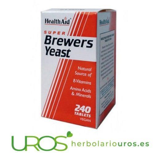 Levadura de cerveza en pastillas de Health Aid ¿Qué es la levadura de cerveza? Descubre sus beneficios Descubre todos los beneficios y propiedades de la levadura de cerveza en pastillas