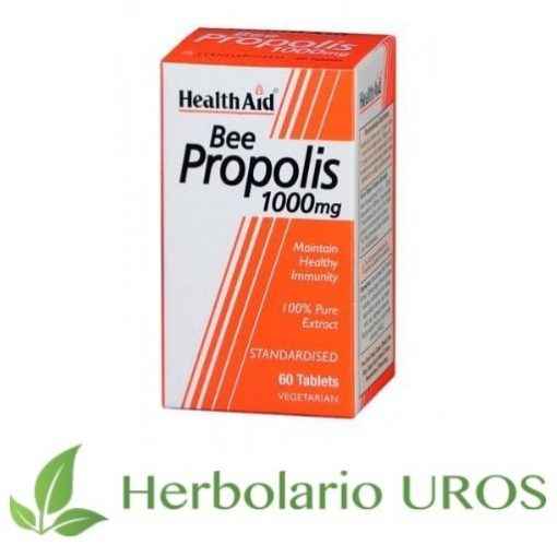 Propolis puro en comprimidos con todas sus propiedades