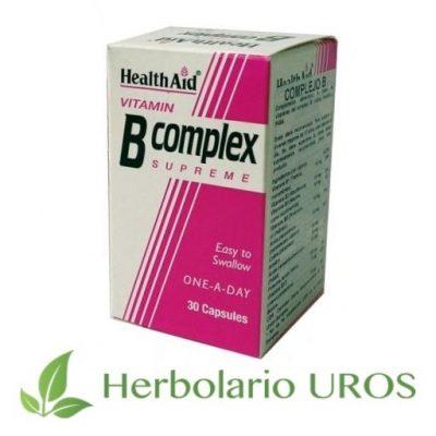 Complejo B de HealthAid - Vitaminas del Grupo B