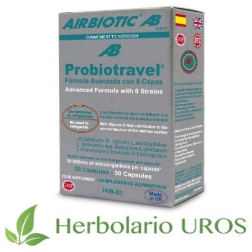 Probiotravel - probiótico en cápsulas para viajar