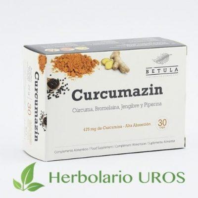 Curcumazin Betula - Cápsulas de cúrcuma