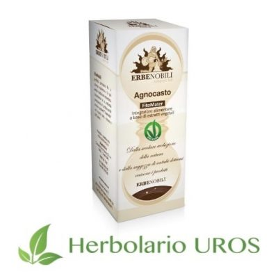 Vitex Agnus Castus - remedio espagírico natural de laboratorios Erbenobili como regulador hormonal feminino