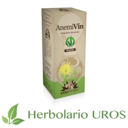 AnemiVin de Erbenobili - una ayuda espagírica como aporte de energía