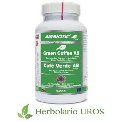 Café Verde Complex de AirBiotic - un remedio natural para adelgazar
