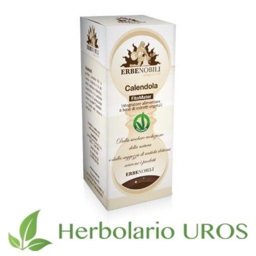 Calendula pura en tintura de laboratorios Erbenobili - un remedio espagírico para tu piel