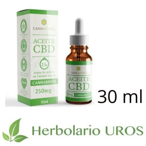 Aceite CBD - aceite de cáñamo puro con CBD