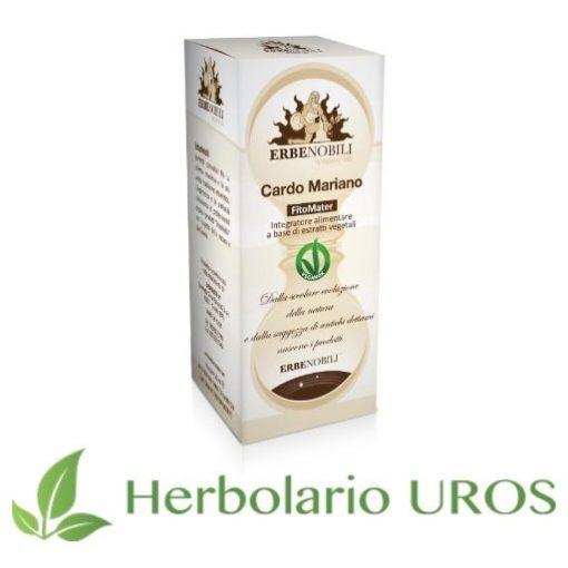Cardo Mariano Erbenobli - Remedio espagírico hepatico - para la salud de tu hígado y una mejor digesitón