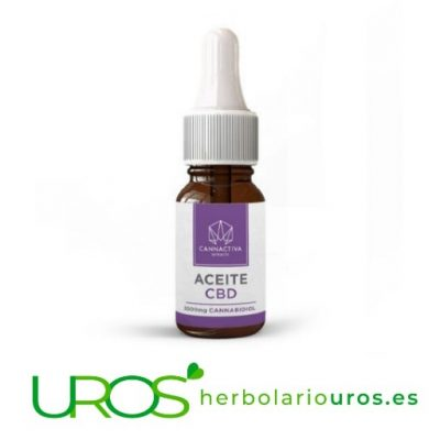Aceite de CBD - CBD en aceite de cáñamo natural puro Beneficios y propiedades de aceite de cáñamo Dosis elevada de CBD puro - un 20 % - funciona como un relajante, una ayuda para el insomnio y los dolores. Este aceite de cáñamo es un producto fabricado en España