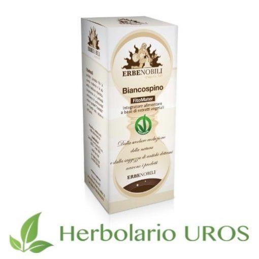 Espino blanco es un remedio espagírico de laboratorios Erbenobili pensado para bajar la tensión alta - una ayuda en hipertensión