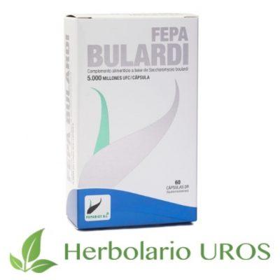Fepa-bulardi para una mejor digestión - probióticos en cápsulas