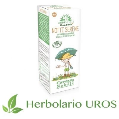 Notti Serene Erbenobili - Remedio espagírico para las vías urinarias