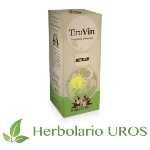 Tirovin Erbenobili - Glándula Tiroides - Remedio espagírico natural de laboratorios Erbenobili