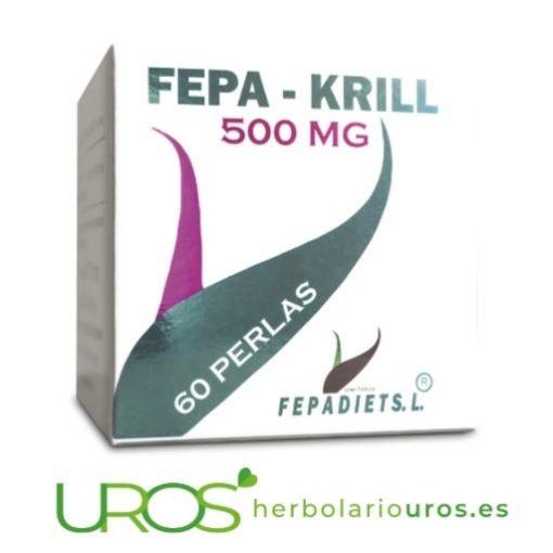 Fepa-Krill - aceite de krill en perlas - omega 3 de máxima calidad