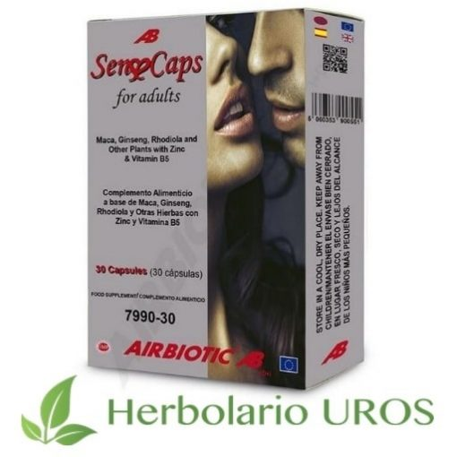 Sense Caps AB Airbiotic - SenseCaps AB Airbiotic es un remedio natural pensado para una mejor vida sexual