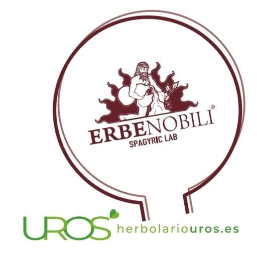 Suplementos espagíricos de laboratorios Erbenobili