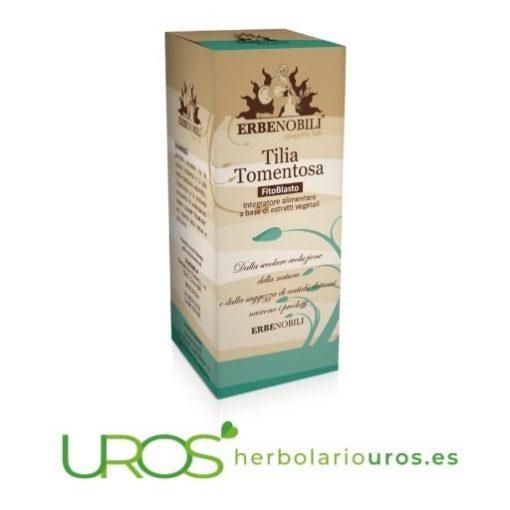 Tilia tomentosa de lab. Erbenobili: Remedio espagirico para tu relax