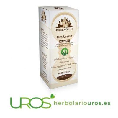 Gayuba en tintura - remedio espagírico de laboratorios Erbenobili para mejor salud urinaria